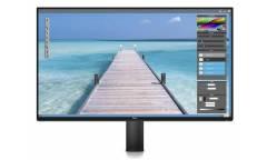 """Монитор Dell 23.8"""" UltraSharp U2417HA черный IPS LED 16:9 HDMI матовая HAS Pivot 250cd 178гр/178гр 1920x1080 DisplayPort FHD USB"""