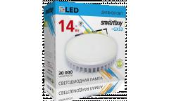 Светодиодная (LED) Tablet GX53 Smartbuy-14W/4000K/Мат стекло (SBL-GX-14W-4K)