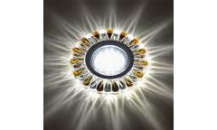 Светильник точечный Uniel DLS-L145 GU5.3 GLASSY/TEA без лампы