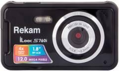 Цифровой фотоаппарат Rekam iLook S760i черный
