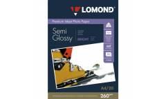 Фотобумага Lomond A4 260 г/м2 Semi-Glossy 20л