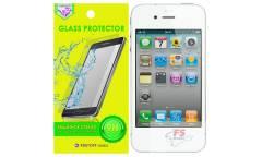 Защитное стекло Krutoff Group 0.26mm для iPhone 4/4S