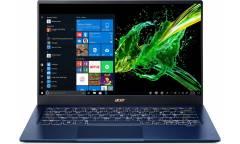 "Ультрабук Acer Swift 5 SF514-54T-59VD Core i5 1035G1/8Gb/SSD256Gb/UMA/14""/IPS/Touch/FHD (1920x1080)/Windows 10/blue/WiFi/BT/Cam"