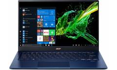 "Ультрабук Acer Swift 5 SF514-54T-740Y Core i7 1065G7/8Gb/SSD512Gb/Intel Iris Plus graphics/14""/IPS/Touch/FHD (1920x1080)/Windows 10/blue/WiFi/BT/Cam"