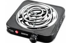 Плитка электрическая Centek CT-1508 (Black) 1конфорка ТЭН 140мм, 1000Вт, индикатор работы