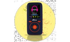 Портативный цифровой плеер Ritmix RF-4450 4Gb синий/оранжевый