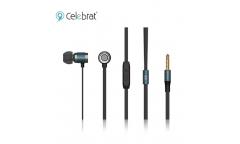 Наушники Yison Celebrat C6S внутриканальные с микрофоном синие