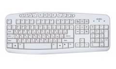 Клавиатура Sven 3050 Comfort, USB, белая