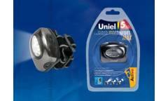 Фонарь Uniel S-HL010-C Gun Metal налобный фонарь алюмин 5 LED