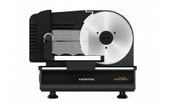 Ломтерезка Centek CT-1381, 150 Вт, толщина нарезки 3-15мм, съемная каретка, спец. держатель