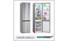 Холодильник Nordfrost NRB 120 932 нержавеющая сталь (двухкамерный)