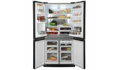Холодильник Sharp SJ-EX98FSL серебристый (двухкамерный)