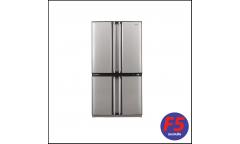 Холодильник Sharp SJ-F95STSL серебристый (двухкамерный)
