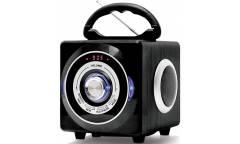 Аудиомагнитола BBK BS03BT черный 3Вт/MP3/FM(dig)/USB/BT/SD
