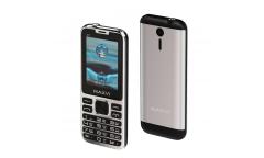 Мобильный телефон Maxvi X11 metallic silver