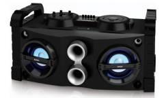 Минисистема BBK AMS115BT черный/темно-синий 40Вт/FM/USB/BT