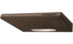 Вытяжка козырьковая Hansa OSC6111BH коричневый управление: ползунковое (1 мотор)