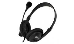 Наушники Ritmix RH-533USB  накладные с микрофоном черные
