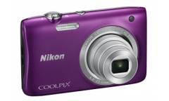 Цифровой фотоаппарат Nikon CoolPix S2900 фиолетовый/рисунок