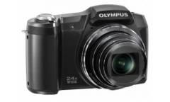 Цифровой фотоаппарат Olympus SH-60 серебристый