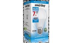 Светодиодная (LED) Лампа Smartbuy-A60-07W/6000/E27