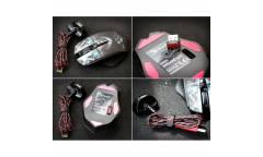Мышь A4 Bloody R80 SKULL черный/рисунок оптическая (4000dpi) беспроводная USB игровая (7but)