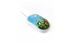 Компьютерная мышь Smartbuy 320 Зоопарк белая