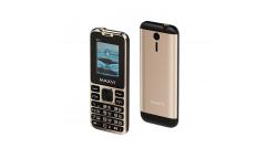 Мобильный телефон Maxvi X12 metallic gold