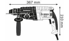 Перфоратор Bosch GBH 2-24 DRE патрон:SDS-plus уд.:2.7Дж 790Вт (кейс в комплекте)