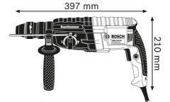 Перфоратор Bosch GBH 2-24 DFR патрон:SDS-plus уд.:2.7Дж 790Вт (кейс в комплекте)