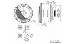 Колонки автомобильные Kenwood KFC-E170P (17 см)