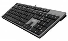 Клавиатура A4Tech KD-300 USB серая
