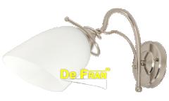 Бра_светильник _DE FRAN_ WL-55578-1W_E27 _40Вт _сатин-никель+матовый