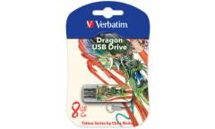 USB флэш-накопитель 16Gb Verbatim Mini Tattoo Edition дракон USB2.0