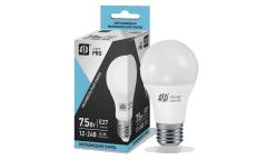 Лампа светодиодная ASD низковольтная LED-MO-12/24V-PRO 7,5Вт 12-24В Е27 4000К 600Лм