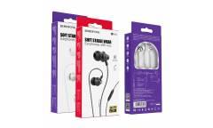 Наушники Borofone BM42 Sophisticated universal earphones with mic Black