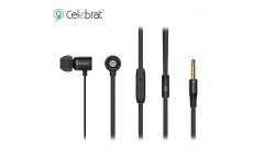 Наушники Yison Celebrat C6S внутриканальные с микрофоном черные
