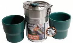 Набор термопосуды Stanley Camp Cook Set (10-01290-009) 0.71л. серебристый