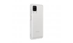 Оригинальный чехол (клип-кейс) для Samsung Galaxy A12  clear cover прозрачный (EF-QA125TTEGRU)