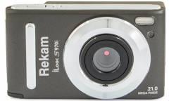 Цифровой фотоаппарат Rekam iLook S970i серый