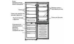 Холодильник Shivaki BMR-1801W белый (двухкамерный)