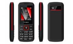 Мобильный телефон teXet TM-127 черный-красный