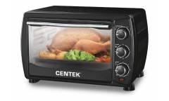 Мини-печь Centek CT-1536-20 л черн.20л 1400Вт, таймер 90 мин, 4 режима, max 320°
