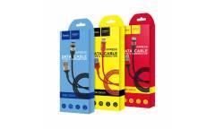 Кабель USB Hoco X26a Xpress Type C (черно-золотой)