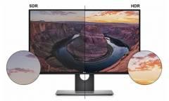 """Монитор Dell 27"""" UltraSharp U2718Q черный IPS LED 16:9 HDMI матовая HAS Pivot 1300:1 350cd 178гр/178гр 3840x2160 DisplayPort Ultra HD USB"""