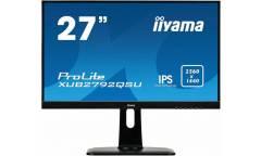 "Монитор Iiyama 27"" XUB2792QSU-B1 черный IPS LED 5ms 16:9 DVI HDMI M/M матовая HAS Pivot 350cd 178гр/178гр 2560x1440 DisplayPort QHD USB 6.1кг"