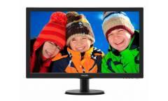 "Монитор Philips 27"" 273V5LHSB (00/01) черный TN+film LED 5ms 16:9 HDMI матовая 300cd 1920x1080 D-Sub FHD 4.53кг"