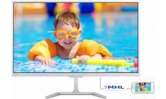 "Монитор Philips 27"" 276E7QDSW (00/01) белый PLS LED 16:9 DVI HDMI матовая 250cd 1920x1080 D-Sub FHD 4.33кг"