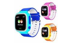 Умные часы Smart Baby Watch Q80 Pink