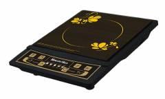 Плитка индукционная электрическая MercuryHaus MC - 6820 черный 1конфорка 280*360*60мм 2000Вт стеклокерамика